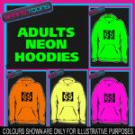65th BIRTHDAY GIFT  ADULTS TEENAGER ELECTRIC HOODIE HOODY